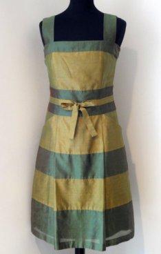 Shaded chanderi summer dress