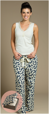 MARA 100% cotton singlet & pants Gingerlily sleepwear