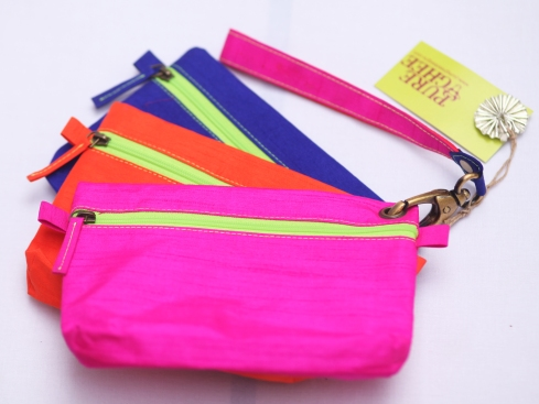 Three pouch bag organiser