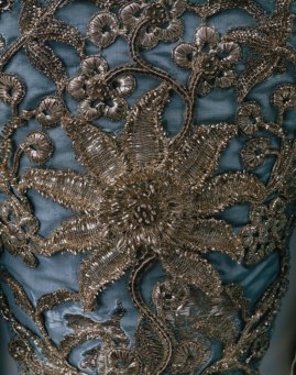 french silver work inspired by mughal badla work
