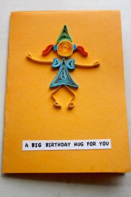 Big hug birthday card by Shivam