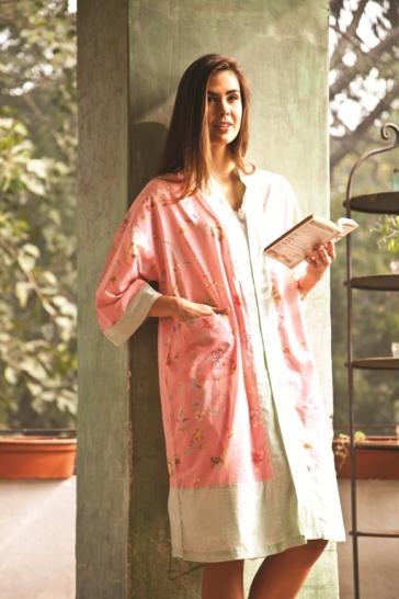 Dorset Pink Kimono