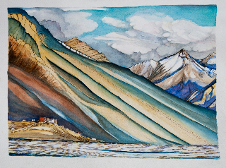 Rungdum, Zanskar 14X19in