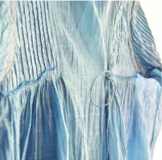 Artisau Summer15 blue boho top