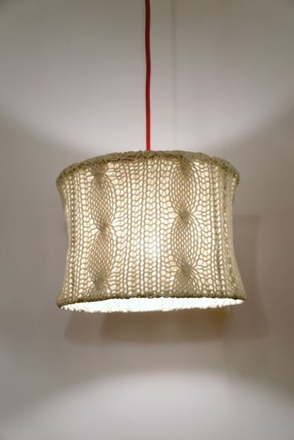 cotton knit lampshade (2)