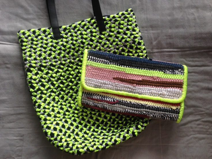 Choti Bag and Chindi Clutch
