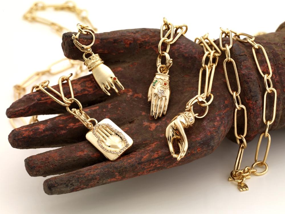 Mudras pendants charms