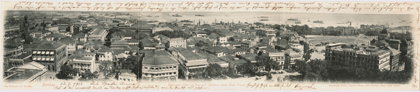 Bombay panoramic view