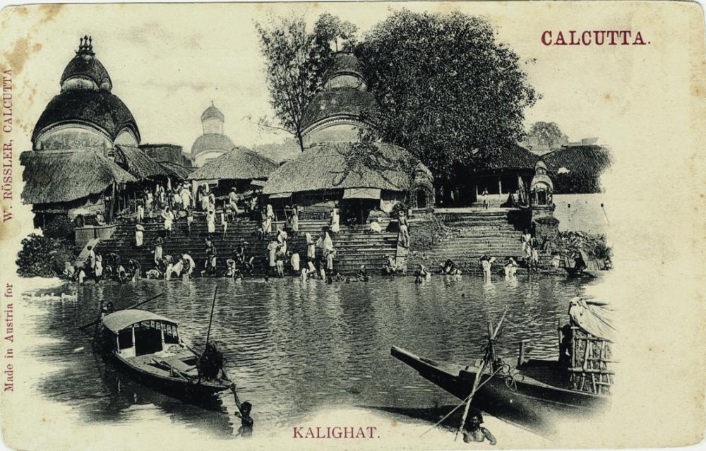 Calcutta-Kalighat 'printed in austria'