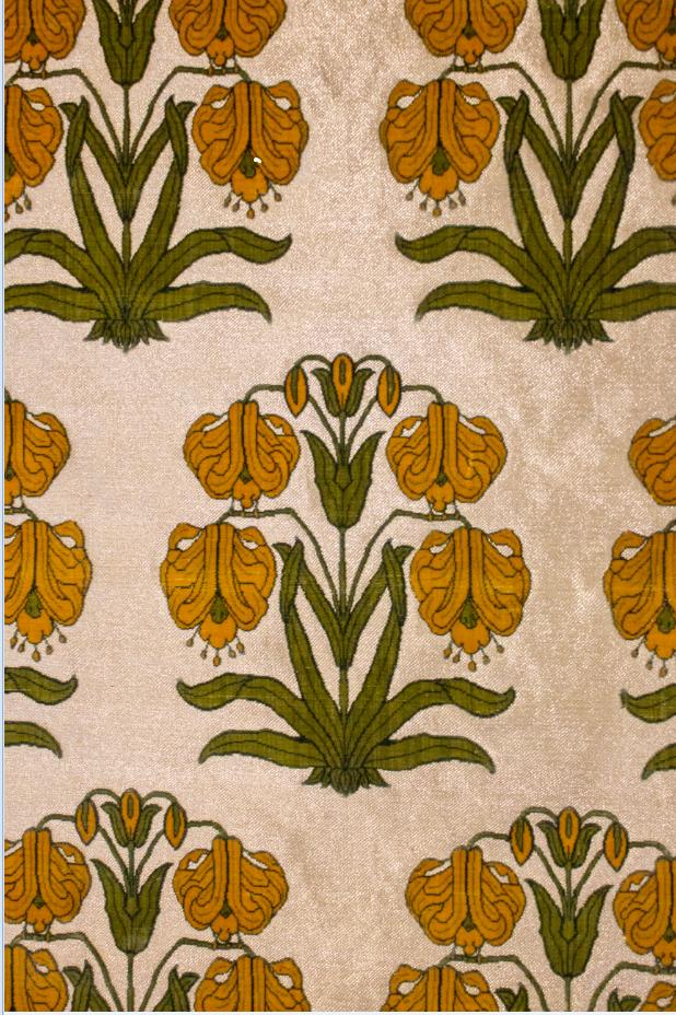Velvet Floral Panel
